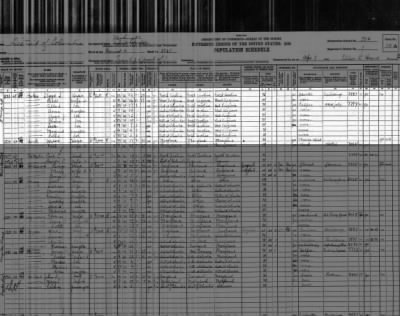 Albert STOKES and his family in 1930 DC fed census.