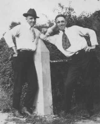 Frank Smith & Clayton Batchelor c 1922 - Fold3.com