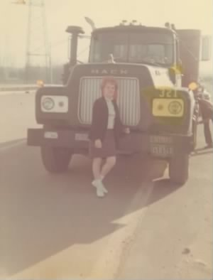Emma loved Mack Trucks