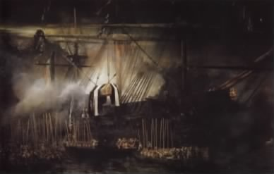 The frigate Belle-Poule brings back the remains of Napoléon to France.jpg