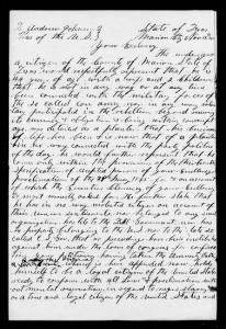 Confederate Amnesty Papers