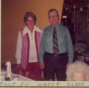 evelyn and clyde fox 1973