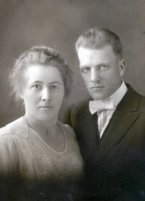 Nellie Turpin and husband Wilson Clark
