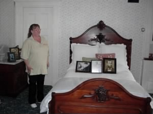 Lizzy Borden's bed room