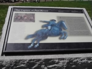 Paul Revere Plaque