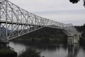 Bridge of the Gods over Columbia River