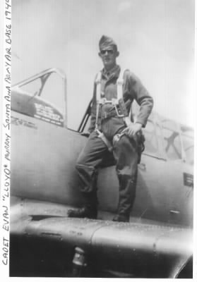 "Flight Officer Evan ""Lloyd"" Murray, B-25 Pilot /MTO"