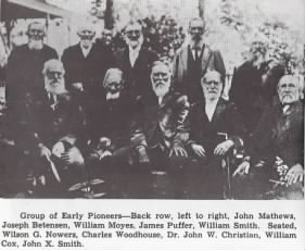 Group of Early Pioneers of Beaver Utah