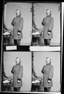 Mathew B Brady Collection of Civil War Photographs › B-1922 Gen. George A. Custer. - Fold3.com