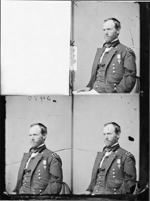 Mathew B Brady Collection of Civil War Photographs › B-2793 Gen. William T. Sherman. - Fold3.com