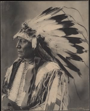 72 - Chief Hollow Horn Bear, Sioux