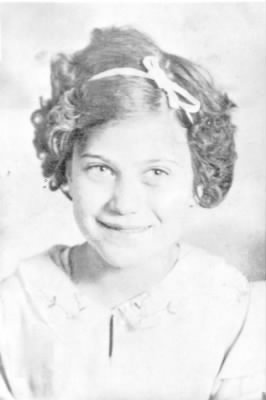 Rose as a young girl