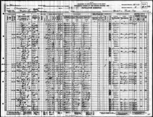 1930 Noble, Cleveland Co., OK Census