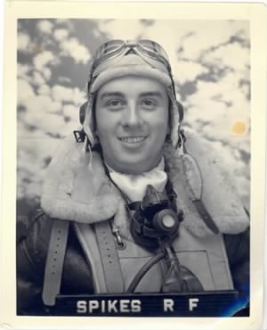 Captain Robert F Spikes, 321stBG,447thBS, MTO/ 65 combat Missions