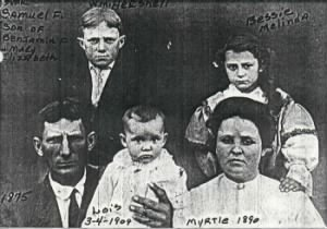 Samuel F. Rylant, with wife &  children