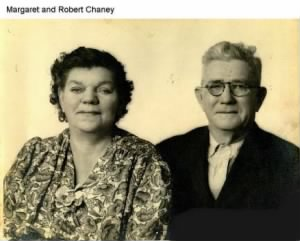 Robert Lee and Margaret Ann Hinkle Chaney