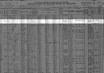 Luther, May & Ruby May Reel in Smith County, Texas census