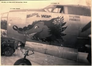 344th BG, Willie the WOLF #43-34351