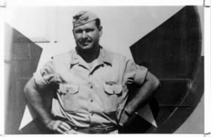 "Col John R ""Killer"" Kane, C.O. of the 98th bomb Group"