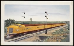 Union Pacific Streamliner