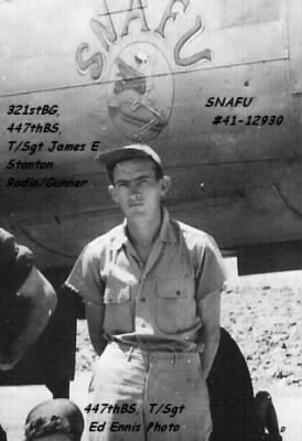 321stBG,447thBS, T/Sgt James E Stanton (Radio/Gunner) also died in this Crash.