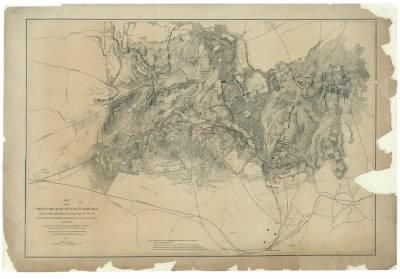 Map of the battlefield of Bull Run, Virginia. Brig. Gen. Irvin McDowell commanding the U.S. forces, Gen. G. [i.e. P.] T. Beauregard commanding the Confederate forces, July 21st 1861 / compiled from a map accompanying the repo › Page 2 - Fold3.com