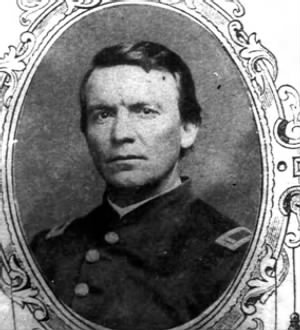 Captain John H Davis - 41st Regiment, Company B (Illinois)