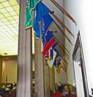 UDC Hall of Flags