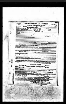 William Edward Lauder - Naturalization Records
