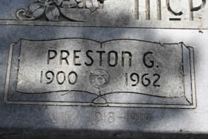 Preston Graves McPherson