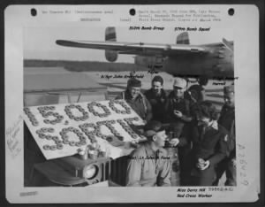 Doris E Hill, Red Cross on Corsica with a Combat B-25 Bomber Crew /310th Bomb Group