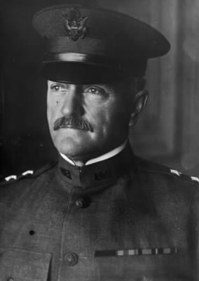 Major General John Pershing of the National Army.