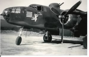 "Harvey's 1st of 66 Combat Missions was flown in the ""Lil' Butch"" #42-4052"