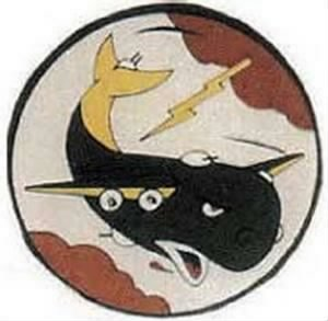 330th Bomb Sauqdron Emblem, B-24 Heavy out of England