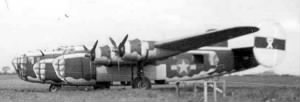93rd BG B-24 D MINERVA, T/Sgt James H Sharp's main ship.