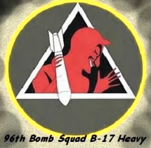 "2nd Bomb Group /""96th Bomb Squadron EMBLEM"""