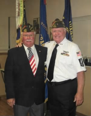 Darrell and Roger Luedtke in FLA /VFW (sons of Claron, WWII AAC  MTO)