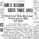 Girl's Decision Cost Three Lives