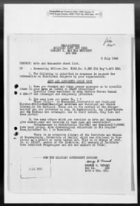 Ardelia Hall Collection: Munich Administrative Records