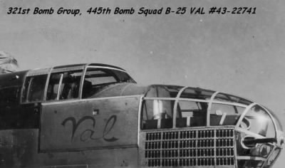 S/Sgt Ben Kuykendall was an Engineer/Gunner on the B-25 VAL #43-27741 321stBG,445thBS - Fold3.com