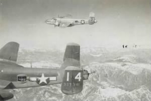 Lt Charles B Wilson flew Combat Missions in the B-25 Mitchell, MTO, WWII