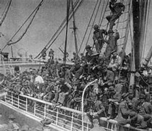 Gold Rush ship to Nome, Alaska