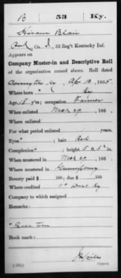 Blair, Hiram (Elihu) I 53 KY Inf Compiled Service Record Page 3.jpg