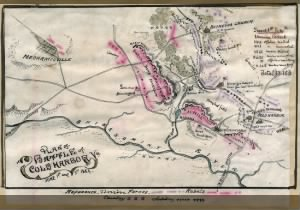 Fold3 Image - Plan of the Battle of Cold Harbor