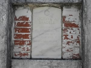 Grave of Octave A. Shadell