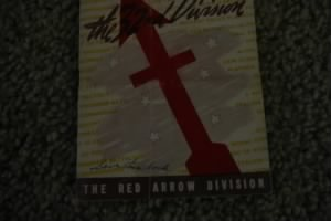 Elmer C. Nagel's 32nd Red Arrow Division booklet--cover