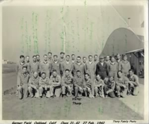 Victor's Graduating class from Gardner Field (AAC) 1942