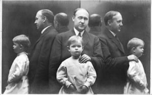 F. B. Van Kleeck, III and his father F. B. Van Kleeck, Jr.