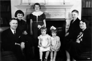 Wallace R. Stanz Family 1920s