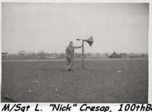 "100th BG, M/Sgt ""Nick"" Cresap /Jim Potts Photo"
